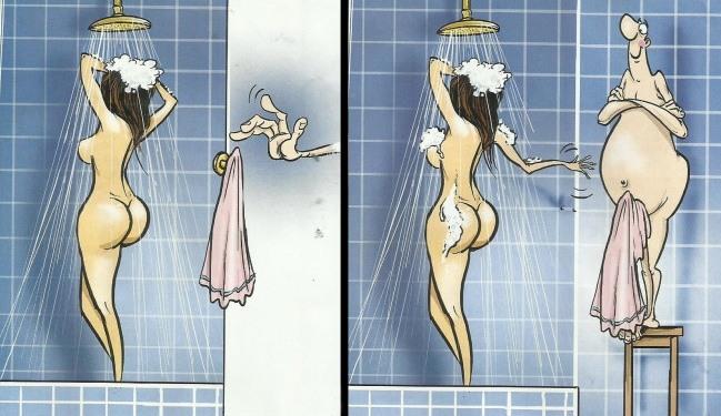 Малюнок  про душ вульгарний