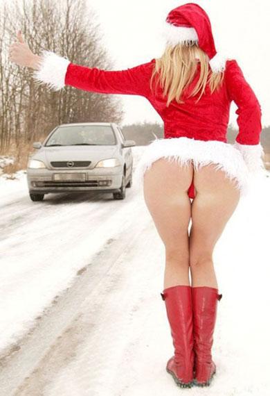 Фото прикол  про сідниці та снігуроньку