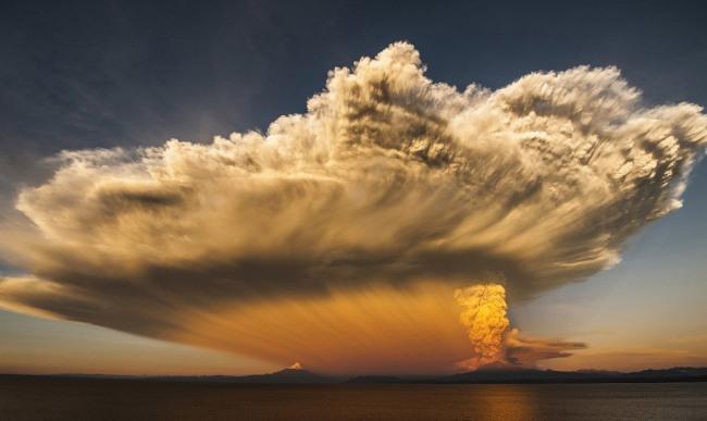 Фото прикол  про хмари та вулкани