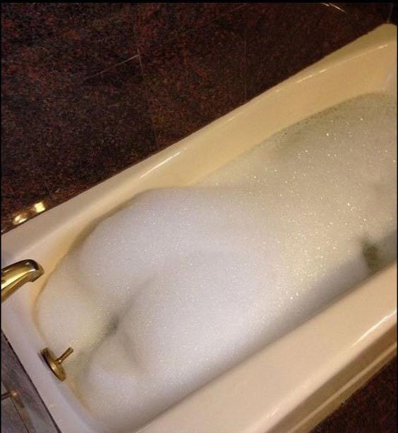 Фото прикол  про ванну