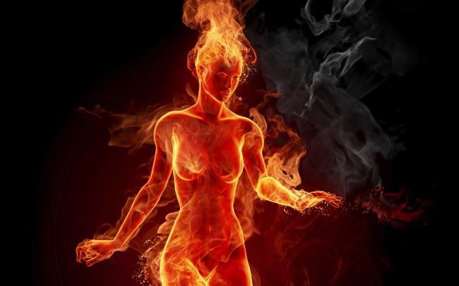 Фото прикол  про вогонь та еротику